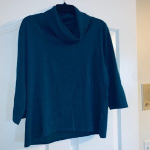 Gently used cowl neck woman's xL sweater